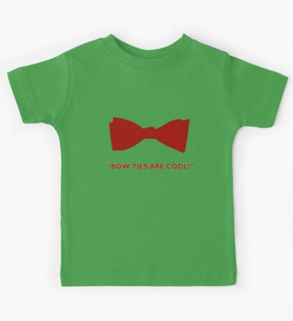 Doctor Who- Bow Ties Are Cool! Kids Tee