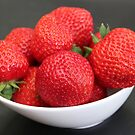 Strawberries :) :) by vbk70
