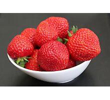 Strawberries :) :) Photographic Print