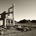 Rhyolite Bank Building by Zane Paxton