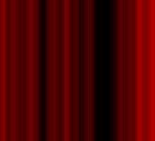 Dark Red Gothic Stripes by FireFairy