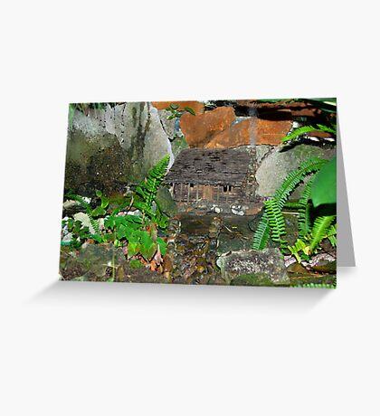 The Log Cabin Greeting Card