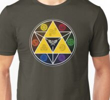 Legend Of Zelda Sacred Symbols Unisex T-Shirt