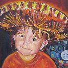 Mexican Boy by Olga van Dijk