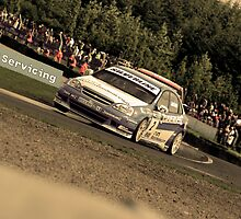Matt Jackson - BTCC Knockhill by Ross Williams