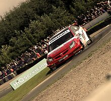Andrew Jordan - BTCC Knockhill by Ross Williams