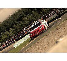 Andrew Jordan - BTCC Knockhill Photographic Print