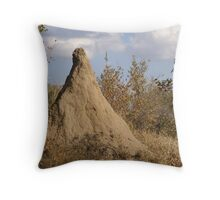Termite Mound - WildAfrika Throw Pillow