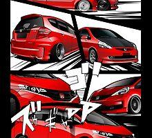Honda Fit Enthusiast by rizadeli