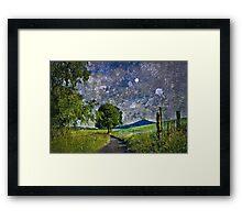 Midnight journey Framed Print