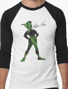 Tropical Peter Pan  Men's Baseball ¾ T-Shirt