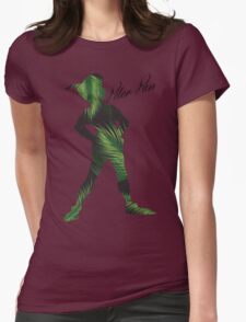 Tropical Peter Pan  Womens Fitted T-Shirt