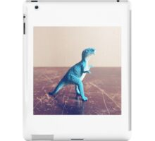 Blue Dinosaur  iPad Case/Skin