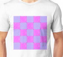 Beautiful Cushions/ Pattern Pink Checks Unisex T-Shirt