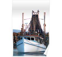 Local fishing trawler Poster