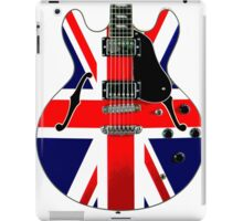 British Flag Guitar Union Jack iPad Case/Skin