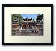 Peace Pagoda • South Bank • Brisbane Framed Print