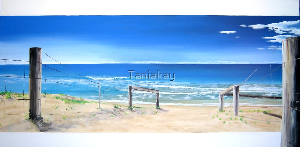 """""""Ocean View"""" by Tania Kay (northern beaches) by Taniakay"""