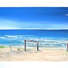 """Ocean View"" by Tania Kay (northern beaches) by Taniakay"