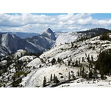 Half Dome in Yosemite National Park from Olmsted Point Photographic Print