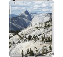 Half Dome in Yosemite National Park from Olmsted Point iPad Case/Skin
