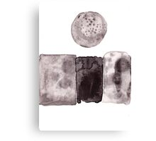 The Moon On The Wall Canvas Print