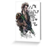 APB Reloaded Cool Gangster Boy Greeting Card