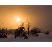 Snow Squaw Sunset Photographic Print