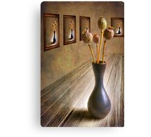 Solo Exhibition Canvas Print