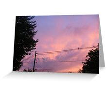 True Sky Greeting Card