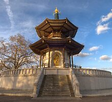 Peace Pagoda by Davide Anastasia