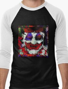 John Wayne Gacy. All the world loves a clown. Men's Baseball ¾ T-Shirt