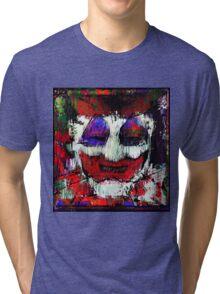 John Wayne Gacy. All the world loves a clown. Tri-blend T-Shirt