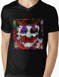 John Wayne Gacy. All the world loves a clown. Mens V-Neck T-Shirt