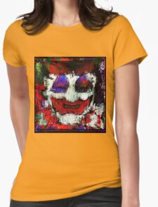 John Wayne Gacy. All the world loves a clown. Womens Fitted T-Shirt