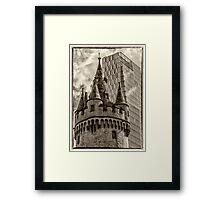 Eschenheimer Tower Framed Print
