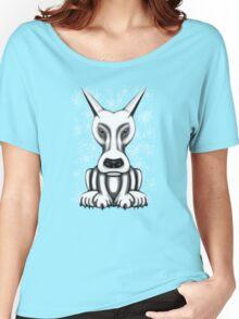 Mr Grey Cartoon Dog  Women's Relaxed Fit T-Shirt