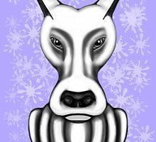 Mr Grey Cartoon Dog  by Sookiesooker