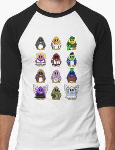 All Penguins Men's Baseball ¾ T-Shirt