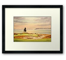 Chambers Bay Golf Course Framed Print
