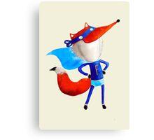 Super Fox Canvas Print