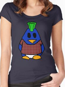 Punk Penguin Women's Fitted Scoop T-Shirt