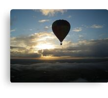 Air born Canvas Print