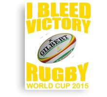Australia Rugby Union World Cup 2015 - Tshirts, Stickers, Mugs, Bags Canvas Print