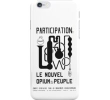 New Opium for the People iPhone Case/Skin