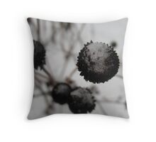 Chilled to the Stem Throw Pillow