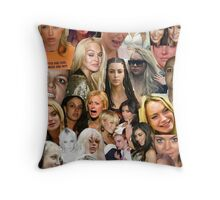 Famous Failures Collage Throw Pillow