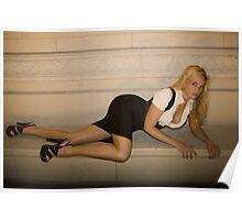 Jade Sprawling in Vegas Poster