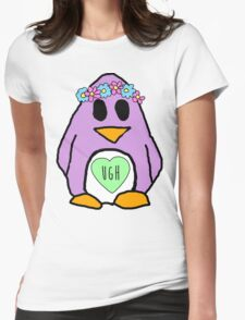 Pastel Penguin Womens Fitted T-Shirt