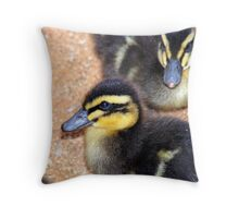 Duckling Throw Pillow